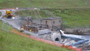 Selset Reservoir Hydropower Scheme (2012)