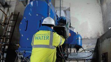 Mosswood WTW - Hydropower Turbine (2013)