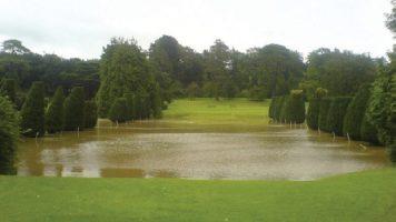 Dyffryn Gardens Flood Management Project (2014)