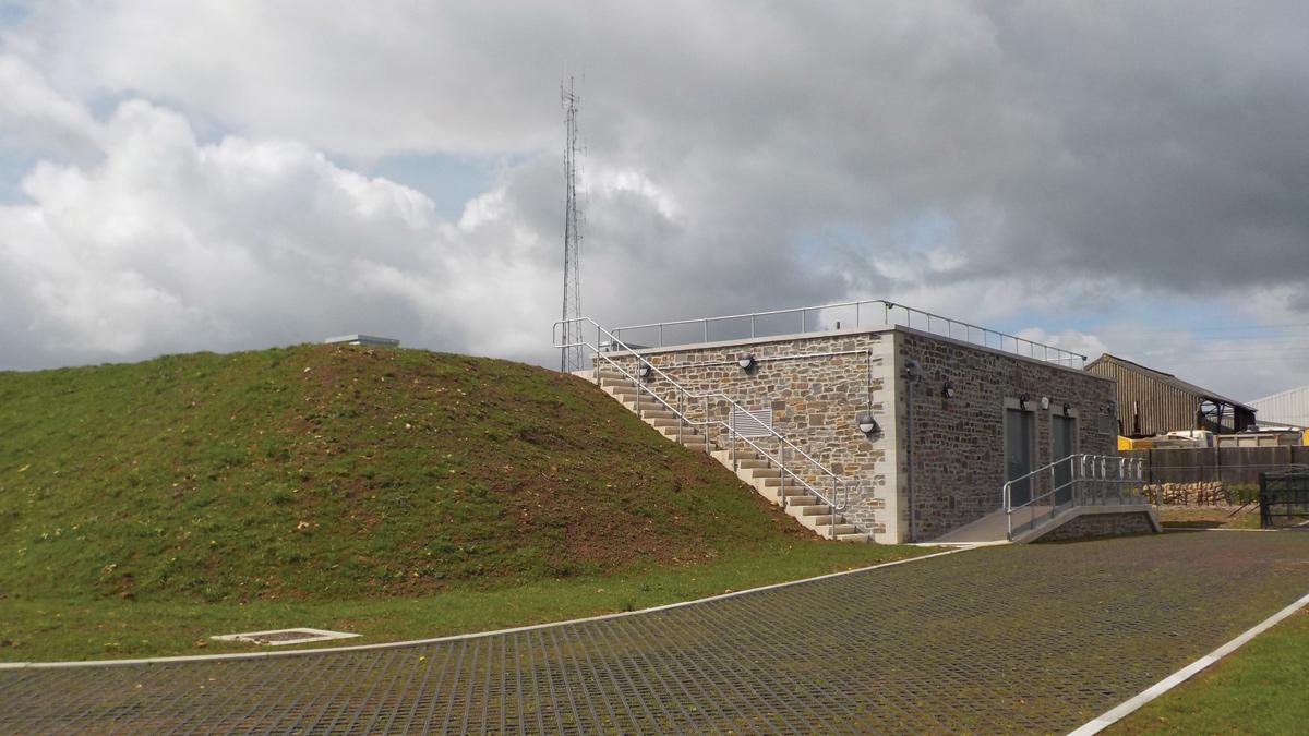 Dundry Reservoir & Pumping Station (2016)
