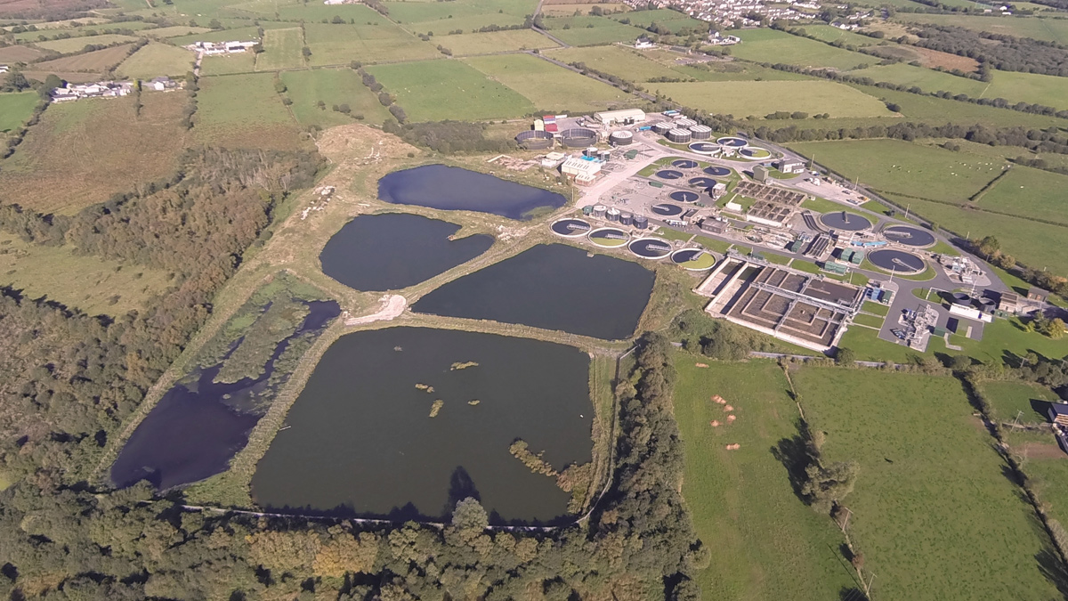 Ballynacor Sewage Lagoon Project (2016)
