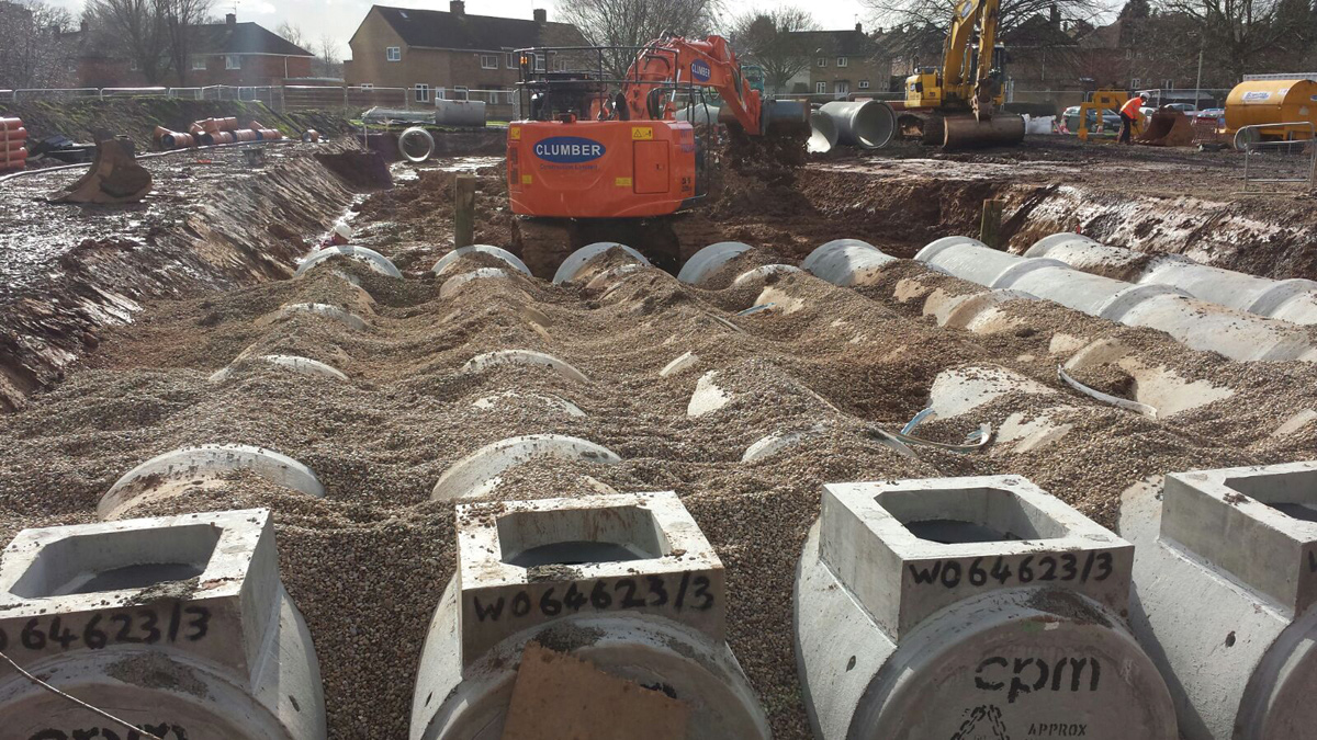 Garendon Green (Loughborough) Flood Alleviation (2016)