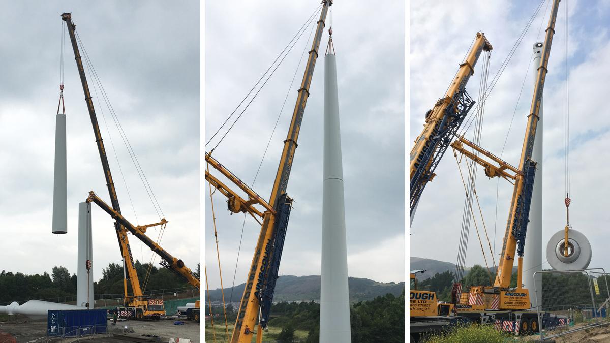 Swansea Bay WwTW Wind Turbine (2017)