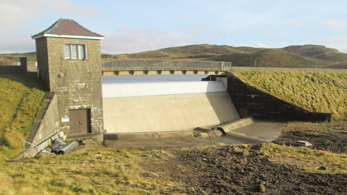 Llyn Teifi Spillway Rehabilitation Works (2017)