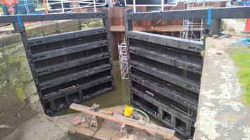 Heybridge Sea Gate & Lock Gate Replacement (2017)