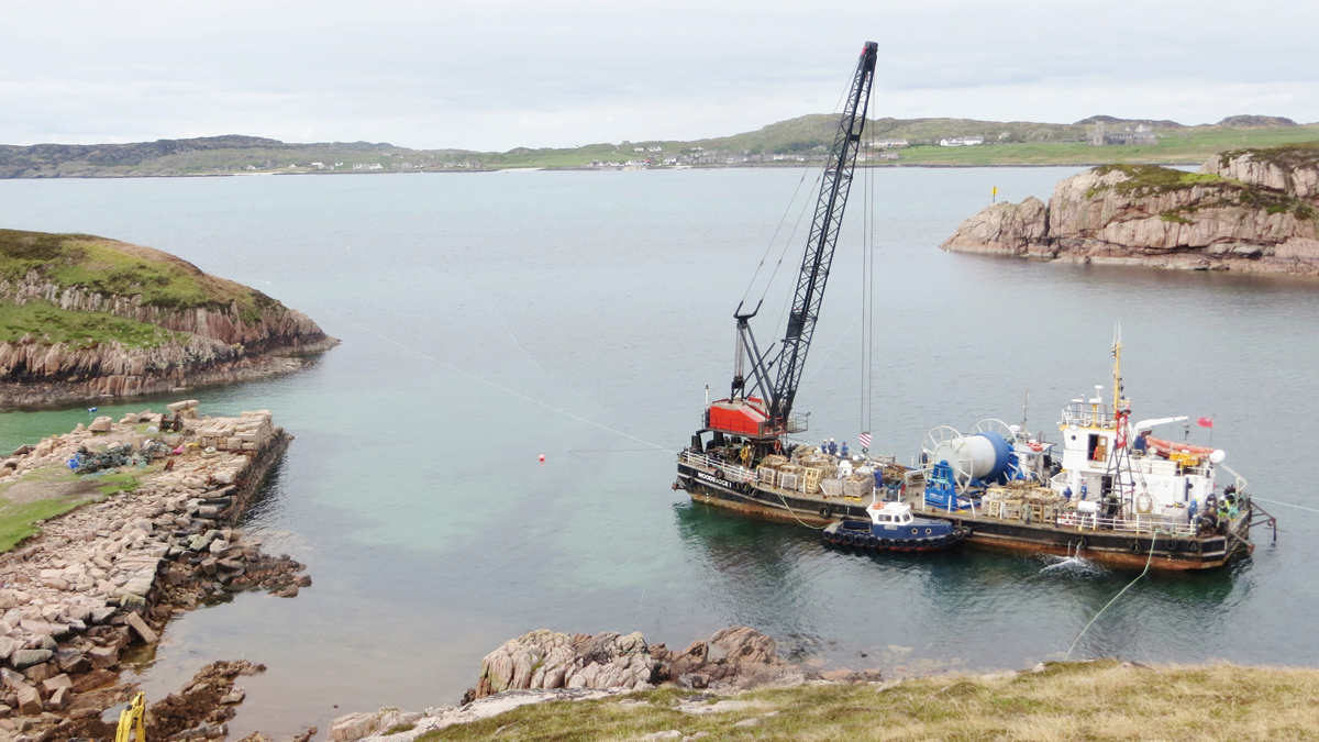 Island of Iona – Seabed Water Supply Pipeline (2017)