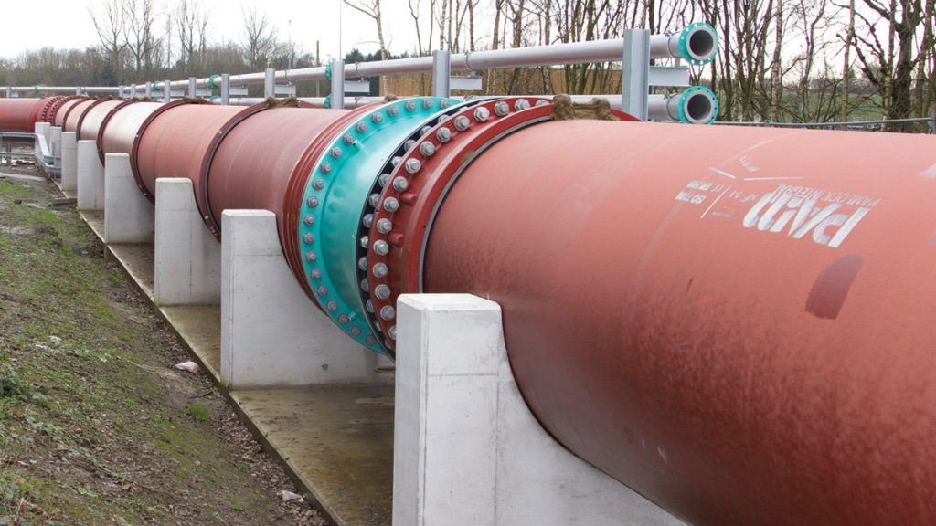 Pipelines in Wastewater Treatment Projects (2017)