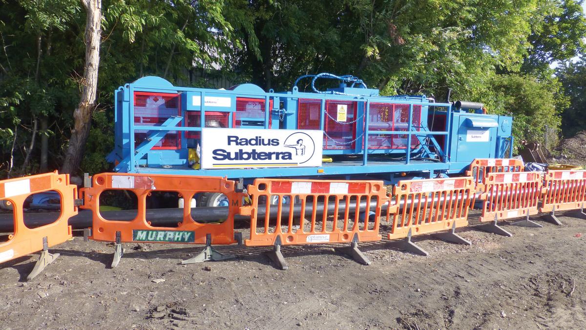 Beckton to Riverside Sludge Mains Refurbishment (2017)