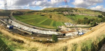 Butterley Spillway Improvements Works (2017)