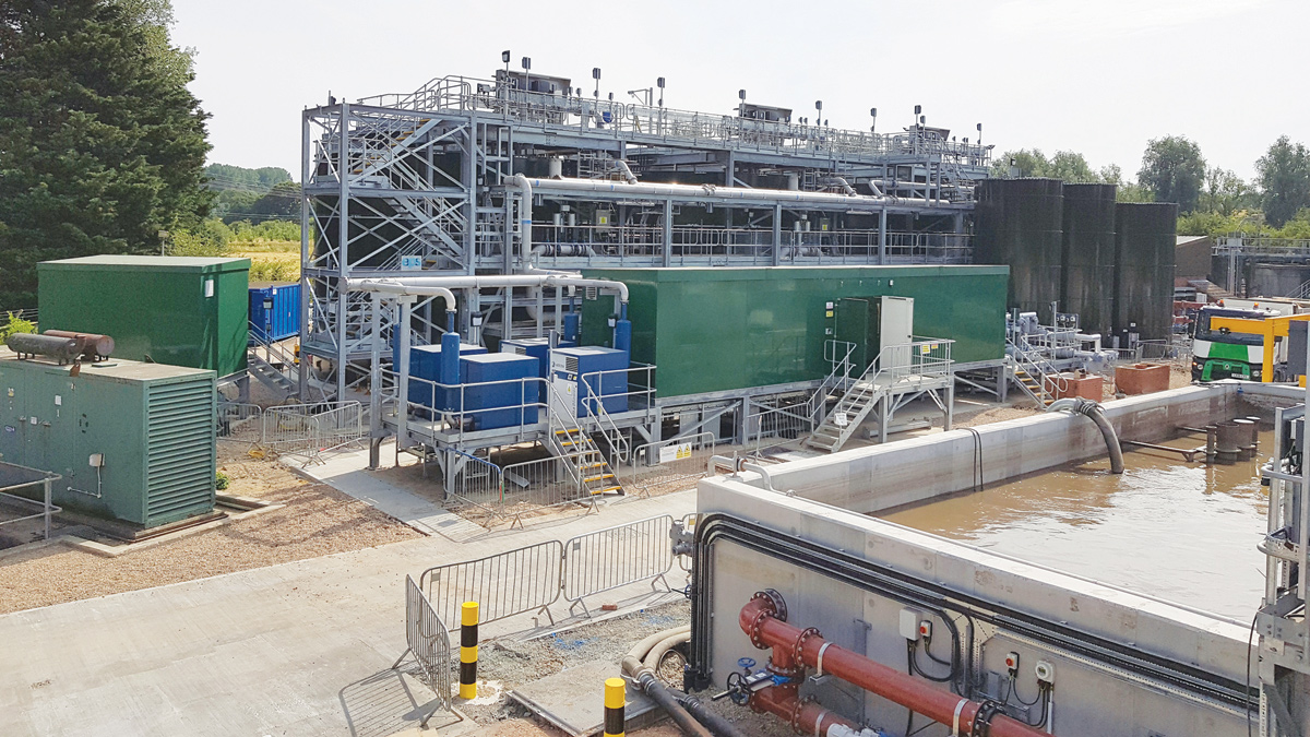 Great Dunmow Water Recycling Centre (2018)