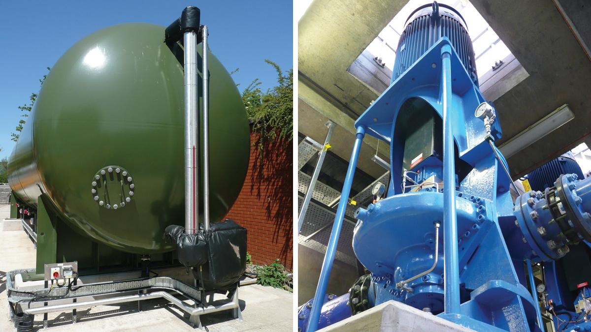 Cheddar Pumping Station (2018)