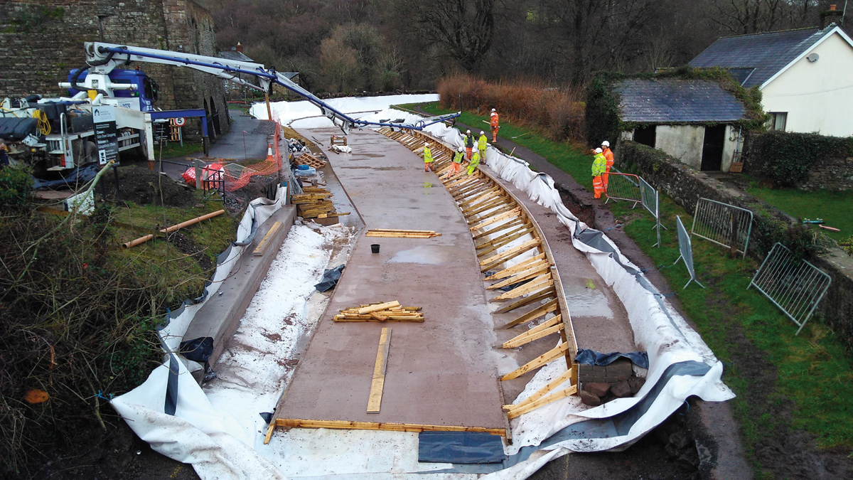 Monmouthshire & Brecon Canal Restoration Project (2018)
