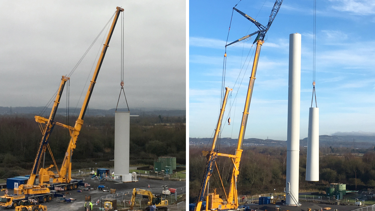 Newport East (Nash) Wind Turbine (2018)
