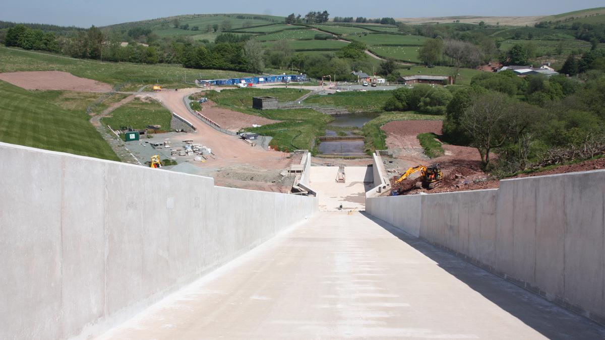 Usk Spillway Upgrade (2018)