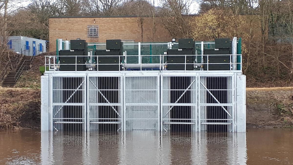 Lumley Raw Water Pumping Station (2018)