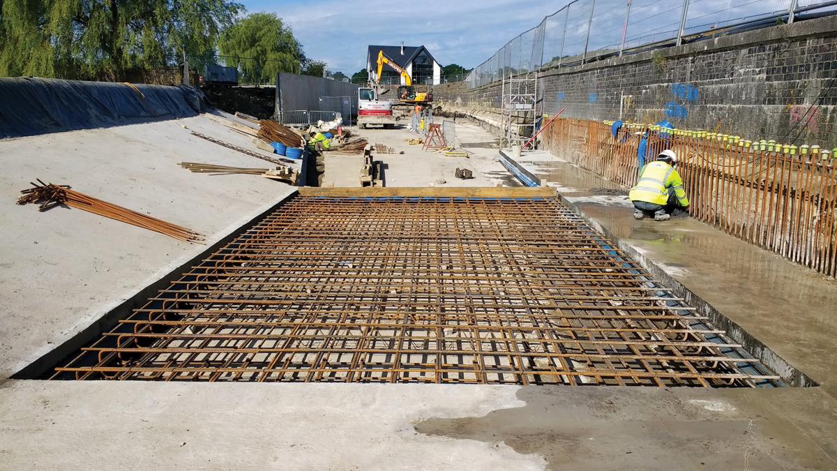 Stanford Reservoir Spillway Extension (2018)