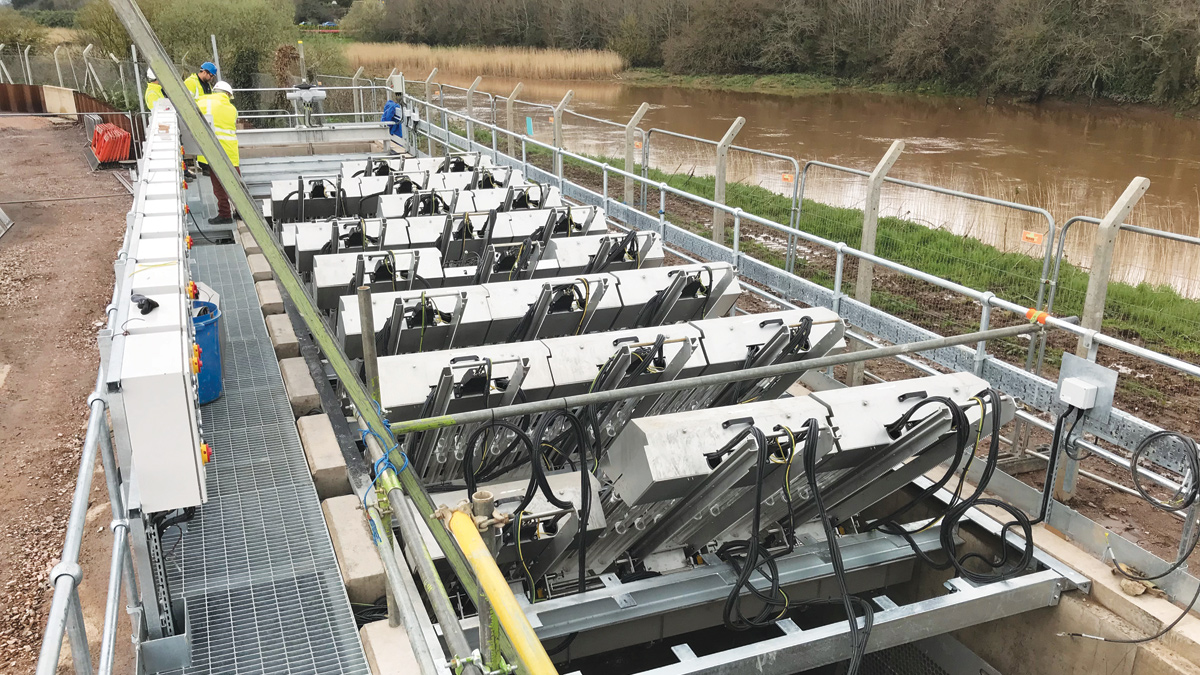 Countess Wear Stormwater UV Irradiation Plant (2018)