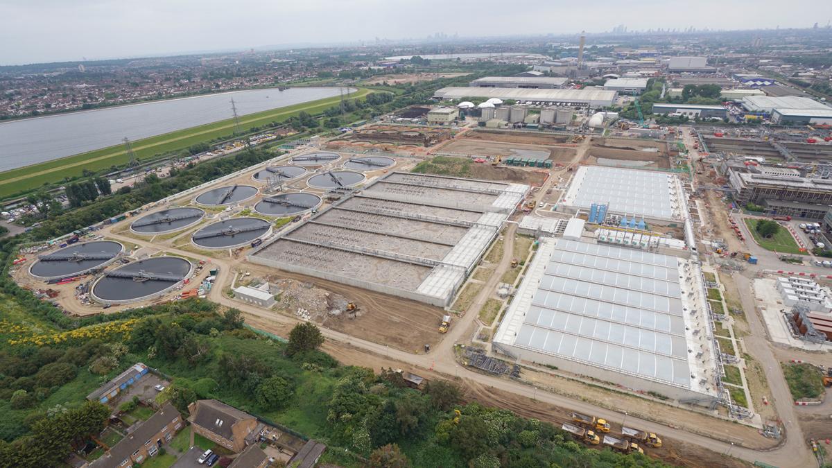 Deephams STW – A630 Major Upgrade (2018)