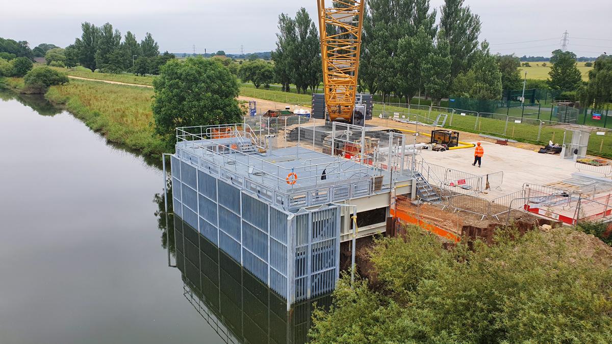 Loftsome Bridge WTW Intake (2019)