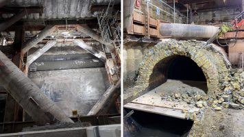 Thames Tideway Tunnel - Central Section - Chelsea Embankment Foreshore (2020)