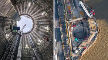 Thames Tideway Tunnel - Central Section - Marine Works (2020)