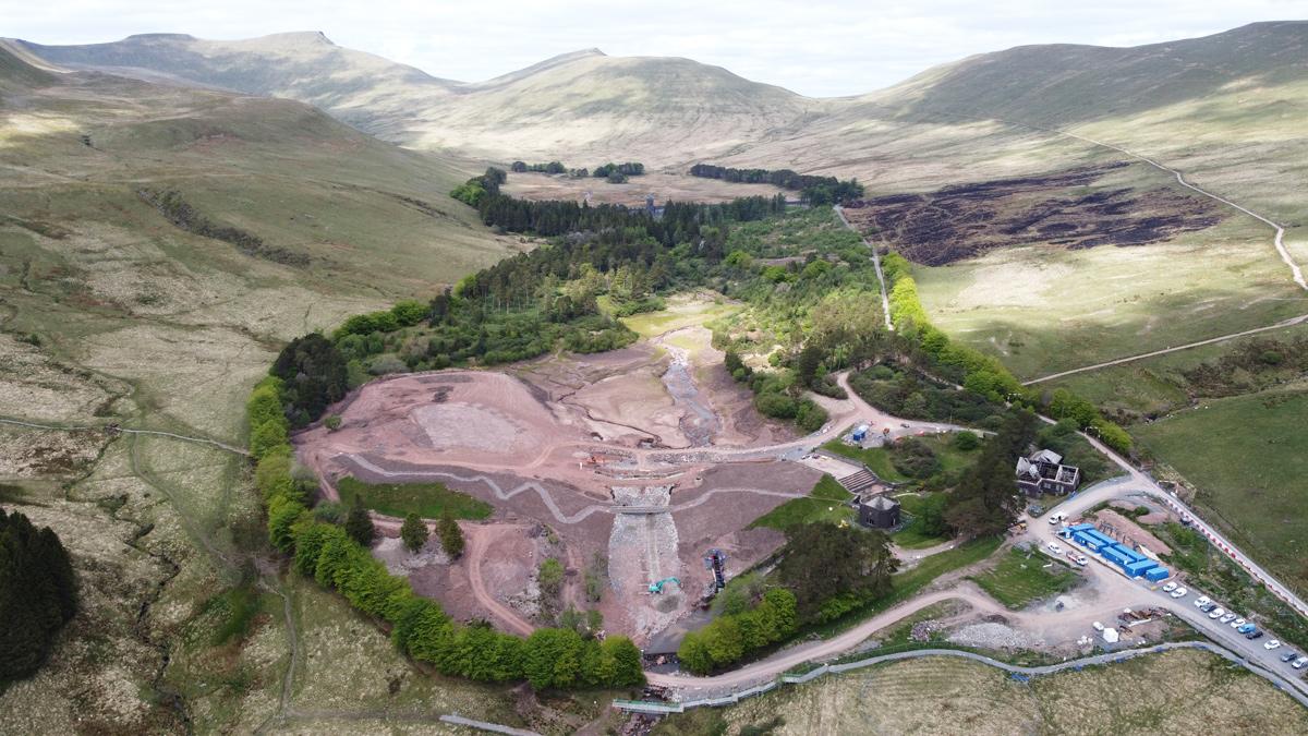 Lower Neuadd Reservoir (2021)