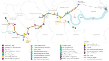 Thames Tideway Tunnel - Central Contract - Watertightness Testing (2021)