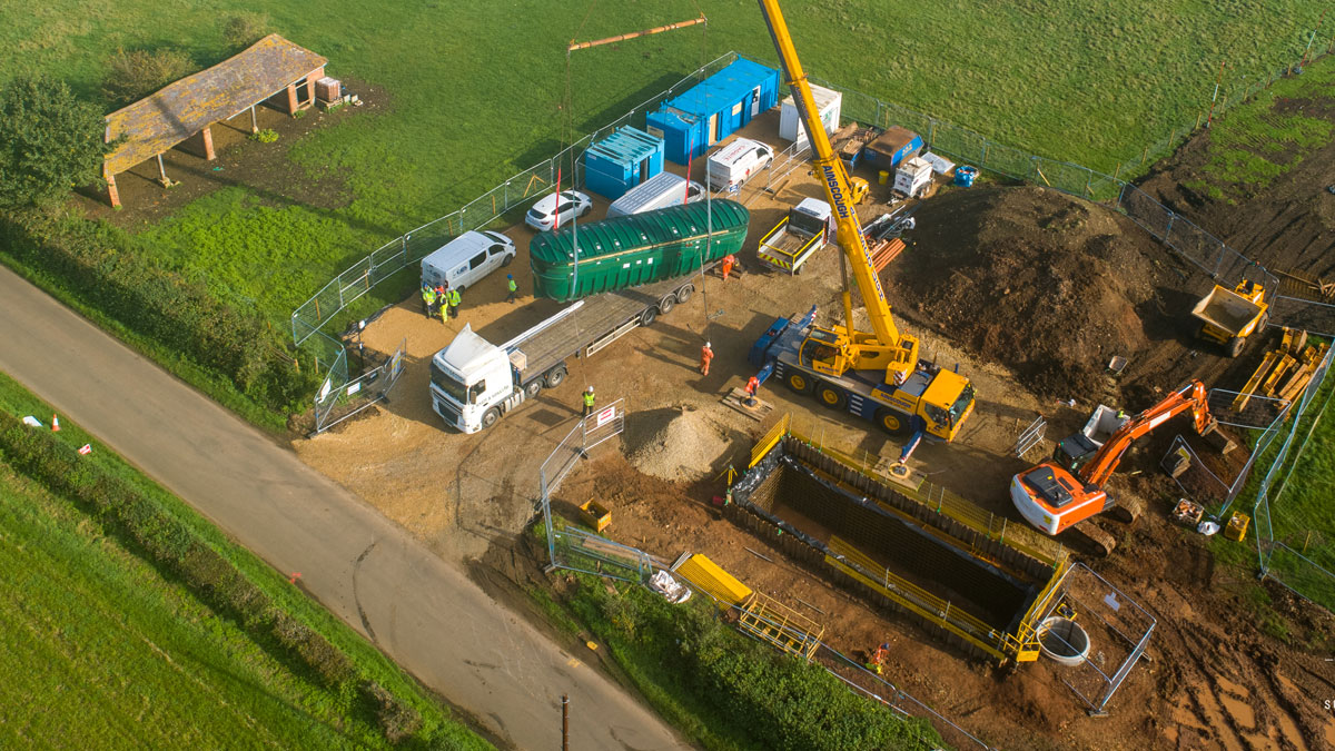 Walton S101a: First Time Sewerage Connection (2021)