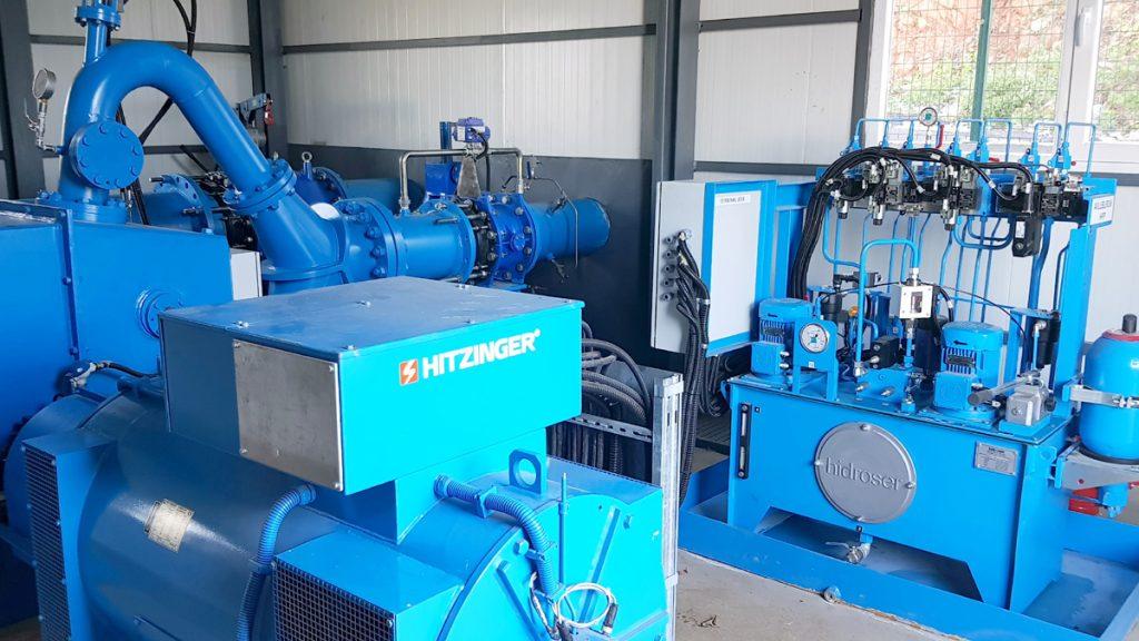 Avluburun Hepp Turbine Generator