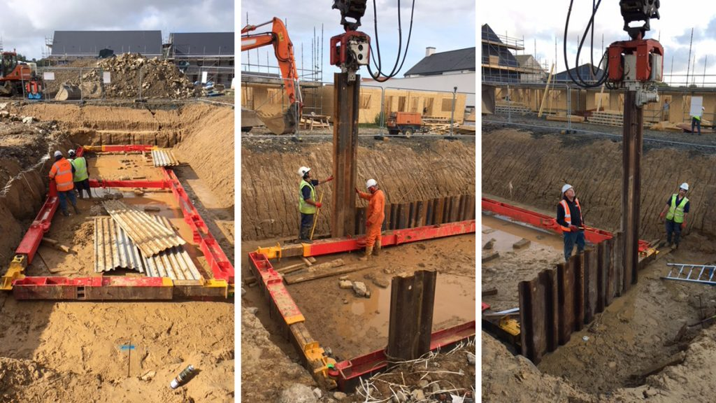 Installation of New Foul Pumping Station in Jersey